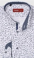 На высокий рост рубашка VESTER 281142-07w-21