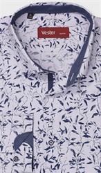 Рубашка полуприталенная VESTER 28114-08w-21