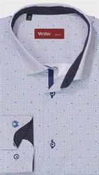 На высокий рост рубашка VESTER 281142-12w-21