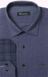 Фланелевая приталенная рубашка City Race 9LCR4-3