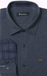 Приталенная фланелевая рубашка City Race 9LCR4-4
