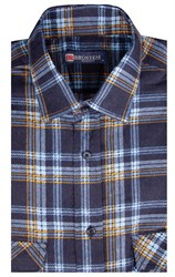 Фланелевая рубашка 100% хлопок BROSTEM F-210