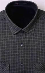Зимняя на флисе серая рубашка BROSTEM MS2A1-98