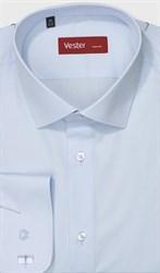 Голубая рубашка большого размера VESTER 707141-90w-21