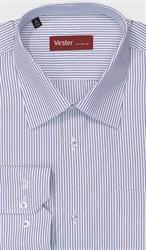 Большая рубашка в полоску VESTER 699141-61w-21