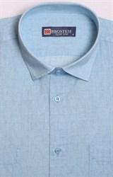 Летняя рубашка лен с хлопком BROSTEM 1SBR129-2