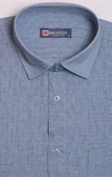 Рубашка короткий рукав со льном BROSTEM 1SBR129-4