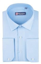 Приталенная рубашка р.S 4706 с модалом