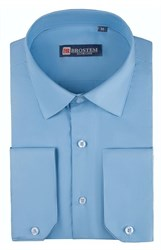 Приталенная рубашка 4721 с модалом