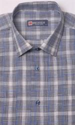 Летняя рубашка лен с хлопком BROSTEM 1SBR031-3