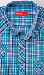 Рубашка с коротким рукавом VESTER 80814-67sp-21
