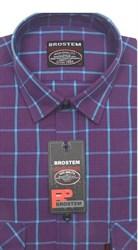 Рубашка мужская хлопок 100 % SH713 BROSTEM полуприт.
