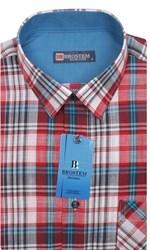 Мужская рубашка лен/хлопок LN129-Z Brostem приталенная