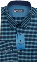 Мужская рубашка хлопок 100 % Brostem BR5 приталенная
