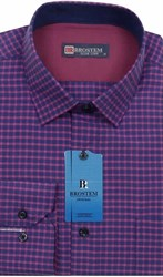 Мужская рубашка хлопок 100 % Brostem BR6 приталенная