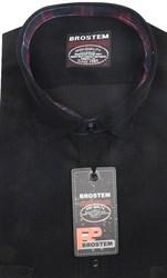 Вельветовая полуприталенная рубашка хлопок 100 % Brostem V2 Z