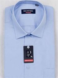 Мужская рубашка большого размера с коротким рукавом BROSTEM CVC92s