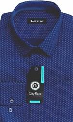 Мужская рубашка CITY RACE BROSTEM приталенная  CR115 Z