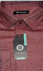 Приталенная рубашка City Race BROSTEM KAC1713-4