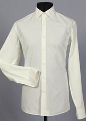 Приталенная рубашка хлопок 100 % VESTER 70714W-02н шампань
