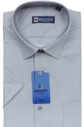 Полуприталенная рубашка с коротким рукавом BROSTEM 4707As