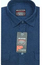 Вельветовая мужская рубашка хлопок полуприталенная Brostem  VT5