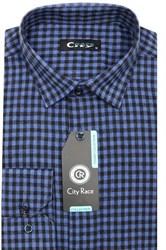 Фланель приталенная рубашка кашемир Brostem City Race KAC15028F-pr-Brostem