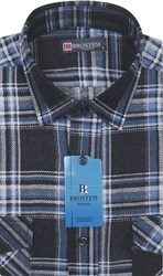 Фланель прямая рубашка BROSTEM F100H
