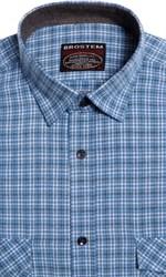 Большая фланелевая рубашка BROSTEM 8LG42+4g