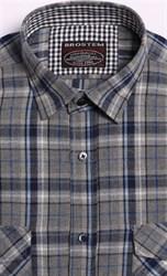 Большая фланелевая рубашка BROSTEM 8LBR49+1g