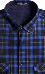 Утепленная флисом рубашка BROSTEM 8LBR21-22