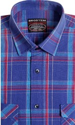 Хлопковая сорочка мужская BROSTEM 8LBR78-1