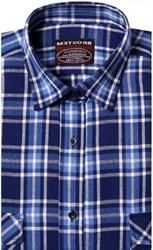 Фланелевая рубашка шерсть-хлопок BROSTEM 9LBR3-6(8-76-3)