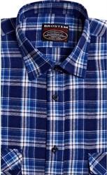 Фланелевая рубашка шерсть-хлопок BROSTEM 8LBR76-4