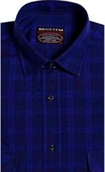 Фланелевая рубашка шерсть-хлопок BROSTEM 9LBR2-7(KA7052,8-76-7)