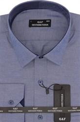 Мужская сорочка полуприталенная SER-6055-3