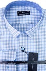 Мужская сорочка полуприталенная 1180