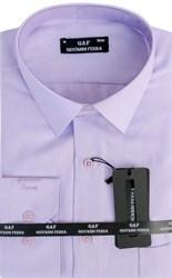 Мужская сорочка полуприталенная 6046-6