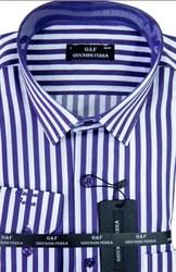Мужская сорочка полуприталенная 1140