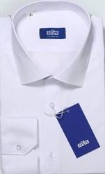 Приталенная белая сорочка ELITE 68412-00