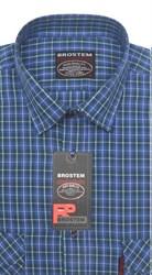 100% хлопок большая рубашка SH657-2g BROSTEM